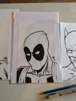 Deadpool Sketch by BungZ