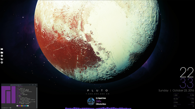 Pluto Mate Desktop by speedracker