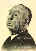 Alfred Hitchcock Tribute by ReedmooleyTattoos