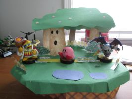 Amiibo Stand Stages - Dream Land by videogameking613