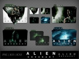 Alien Covenant (2017) Movie Folder Icon Pack by DhrisJ