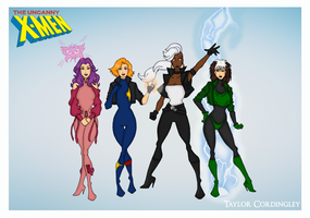 X-Women - Fall of the Mutants Era by Femmes-Fatales