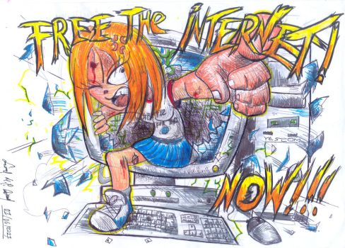 Free the Internet, Now!!! by luciano6254