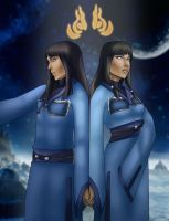 Desna and Eska by archibaldart