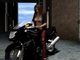 Motorcycle Shrink2 by DarkestHour55