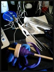 Angelfish #1 and Spinning by bleaknimue