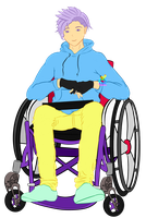 Cey's Wheelchair by ChronicallyQueer