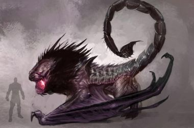 GoW:A The Manticore by IzzyMedrano