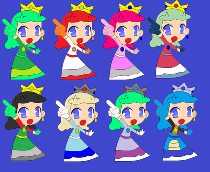 Princess mariana colors palettes by themrjose258