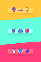 Bar Icons by creatiVe5