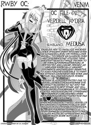VENM: Manga Bio Page by AnonymousBlank