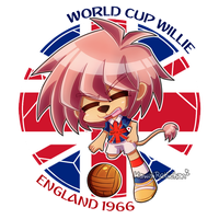 [World Cup Mascots] - World Cup Willie by KawaiiRebichan