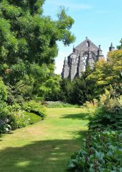 Holyrood Abbey's green mile by BabakoSen