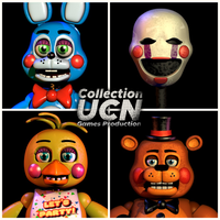 UCN Collection - Toys Poster by GamesProduction