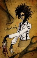 Edward Scissorhands by K-Zlovetch
