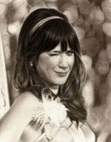 Zooey Deschanel by AmBr0