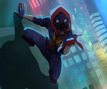 Spiderman Get Ready to Shoot by shana340