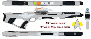 Starfleet phaser rifle  Type 3a by bagera3005