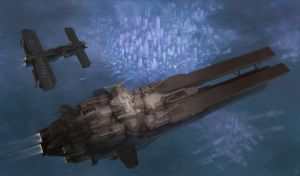 HMS Inexorable by MikeDoscher
