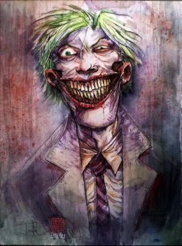 Joker Collaboration with Ben Templesmith by dreamflux1