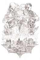 Villains of Gotham by Wes-StClaire