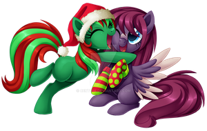 Christmas Hug by Centchi
