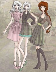 Transitional Dresses, part 2 by seaofwishes