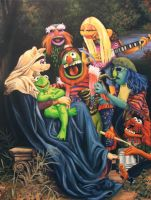 Song of The Electric Mayhem by HillaryWhiteRabbit
