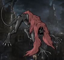 BLOODBORNE - Blood-Starved Beast by ItsFurryGuy4542