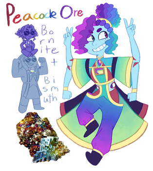 FT - (Bismuth/Bornite) Peacock Ore by TheZodiacLord