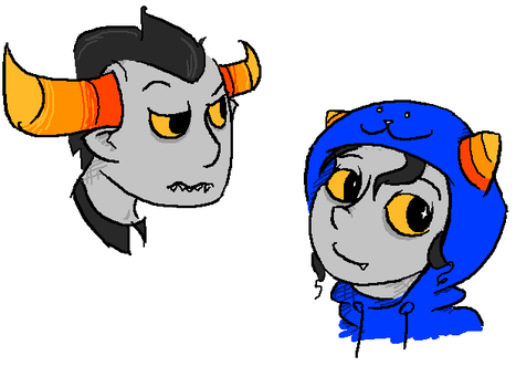 troll doodles by SnapdragonSoda