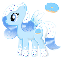Sprinkle Splash- Pony OC by AquaSparkles