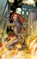 Witchblade color by qualano