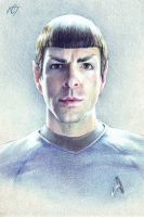 Mr. Spock (Zachary Quinto) by Inar-of-Shilmista