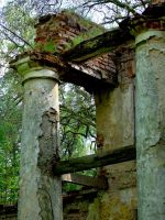 the ruins by gold-paroles