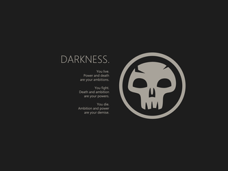 darkness by the-nightraven