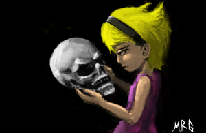 mandy and grim by mad-pure