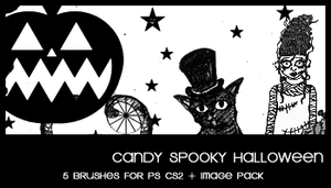 Candy Spooky Halloween by deviantales