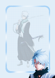 Hitsugaya Note Journal Skin by 16thSquadSanseki