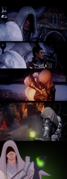 Dragon Age Inquisition screenies: Yen Lavellan by MakiLoomis