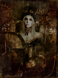 Steampunk beauty by magicsart