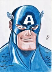 Captain Rogers by nic011