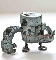 Wartorn Planter by SpaceCowSmith