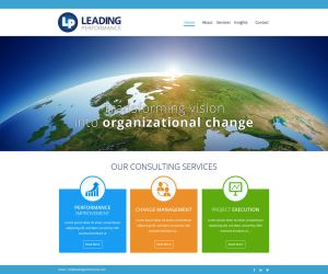 Corporate website by netpal