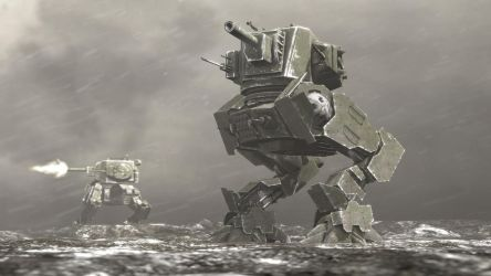 Workers Party Mechs by Tbonemeister