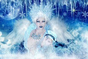 The winter princess by annemaria48