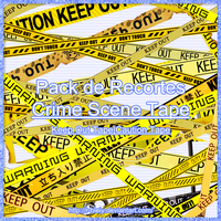 [PNG Pack] Crime Scene Tape by R-bleiy