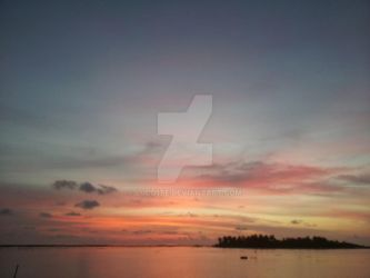 Maldives Evening 4 by ludd1te
