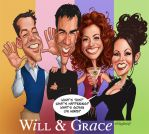 Will and Grace by Loopydave