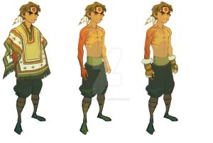 Project: OPUS R Character Design